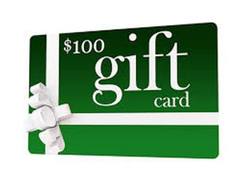$100 Gift Card Image