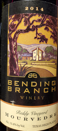 Bending Branch 2014 Mourvedre