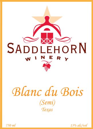 Saddlehorn 2017 Blanc Du Bois (semi)-SOLD OUT