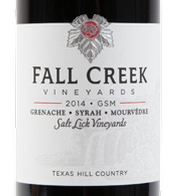 Fall Creek 2014 GSM
