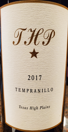 Llano Estacado THP Tempranillo-Glass