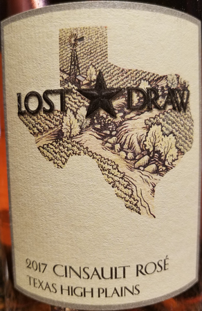 Lost Draw 2017 Cinsault Rose