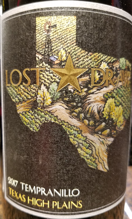 Lost Draw 2017 Tempranillo
