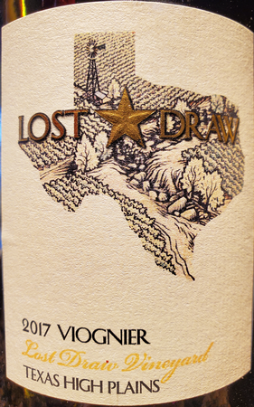 Lost Draw 2017 Viognier