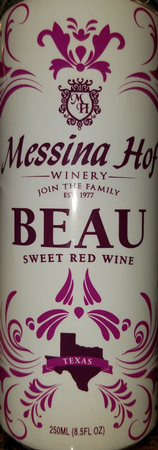 Messina Hof Beau-Can