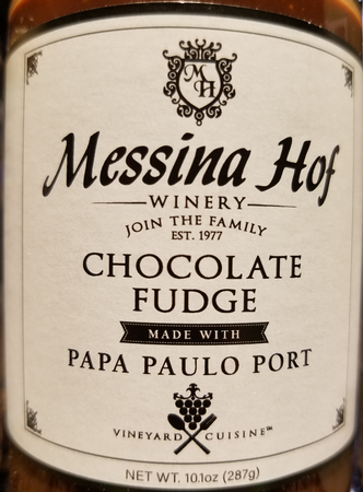 Messina Hof Chocolate Fudge