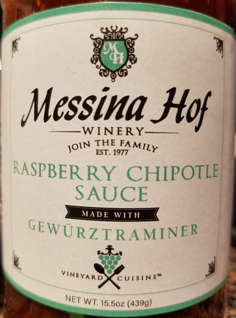 Messina Hof Raspberry Chipotle Sauce