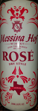 Messina Hof Rose' Can 4-Pack
