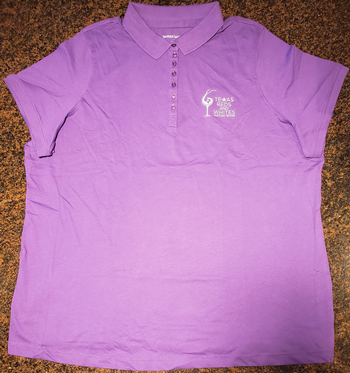 Purple Polo Logo Shirt-14/16