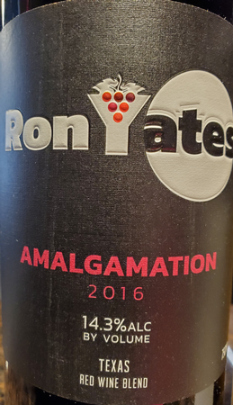 Ron Yates 2016 Amalgamation