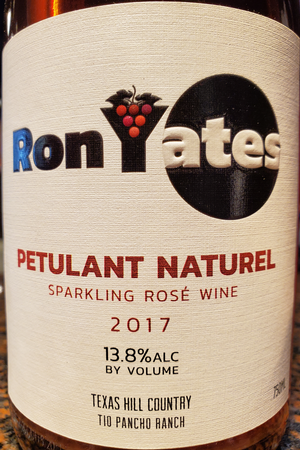 Ron Yates 2017 Petulant Naturel Sangiovese Rose