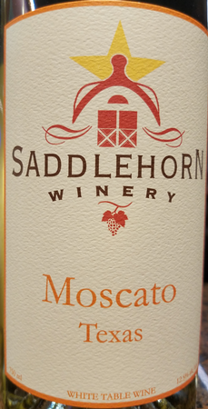 Saddlehorn 2018 Moscato