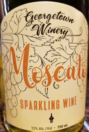 Georgetown Sparkling Moscato