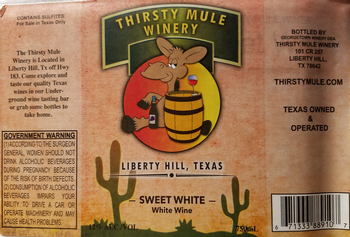Thirsty Mule Sweet White Pear