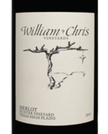 William Chris 2015 Hunter Merlot Image