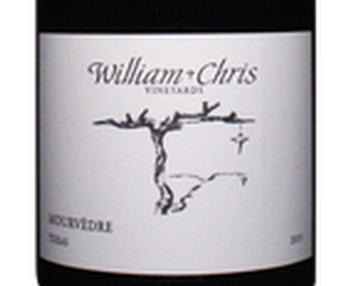 William Chris 2015 Texas Mourvedre Image