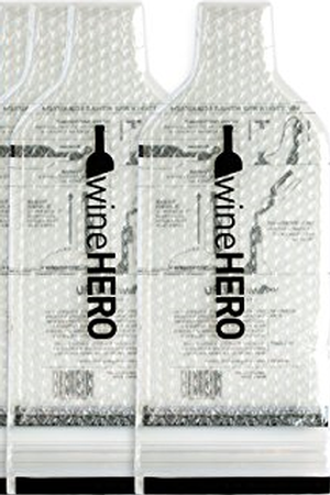 WineHero Wine Skin Bottle Protector-Two Wine Skins