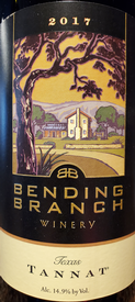 Bending Branch 2017 Texas Tannat