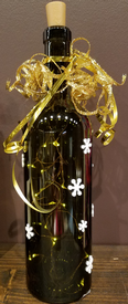 Craft Wine Bottle with Lights