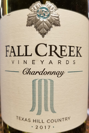 Fall Creek 2017 Chardonnay