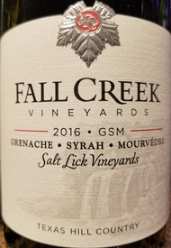 Fall Creek 2016 GSM