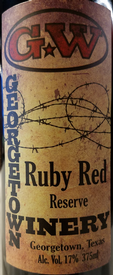 Georgetown Ruby Red Reserve