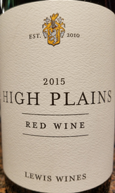 Lewis 2015 High Plains Red
