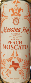 Messina Hof Peach Moscato Can 4-Pack Image